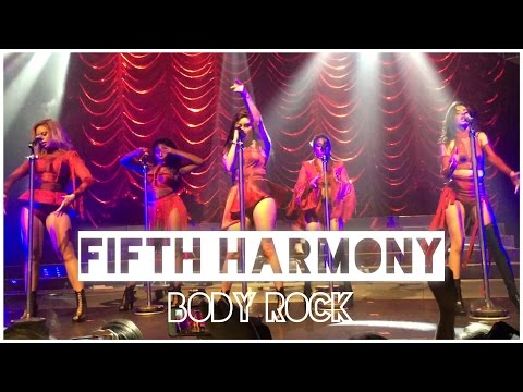 Fifth Harmony - 'Body Rock' Live in Manchester, UK