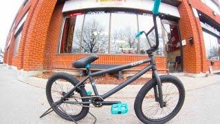 2015 DK Raven Matte Charcoal BMX Unboxing @ Harvester Bikes