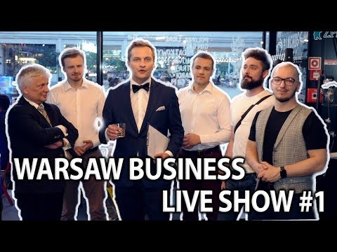 """Warsaw Business Live Show #1 – prof. R.Gwiazdowski, T. """"Gimper"""" Działowy."""