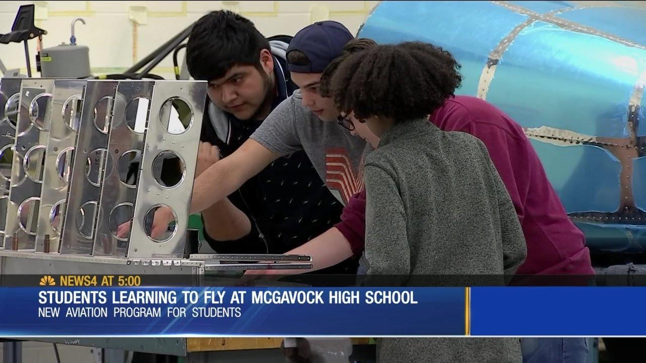 Aviation AUSAA at McGavock High School Nashville TN