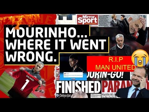 Jose Mourinho Sacked!! - What's Next for Manchester United ? The Sad Truth