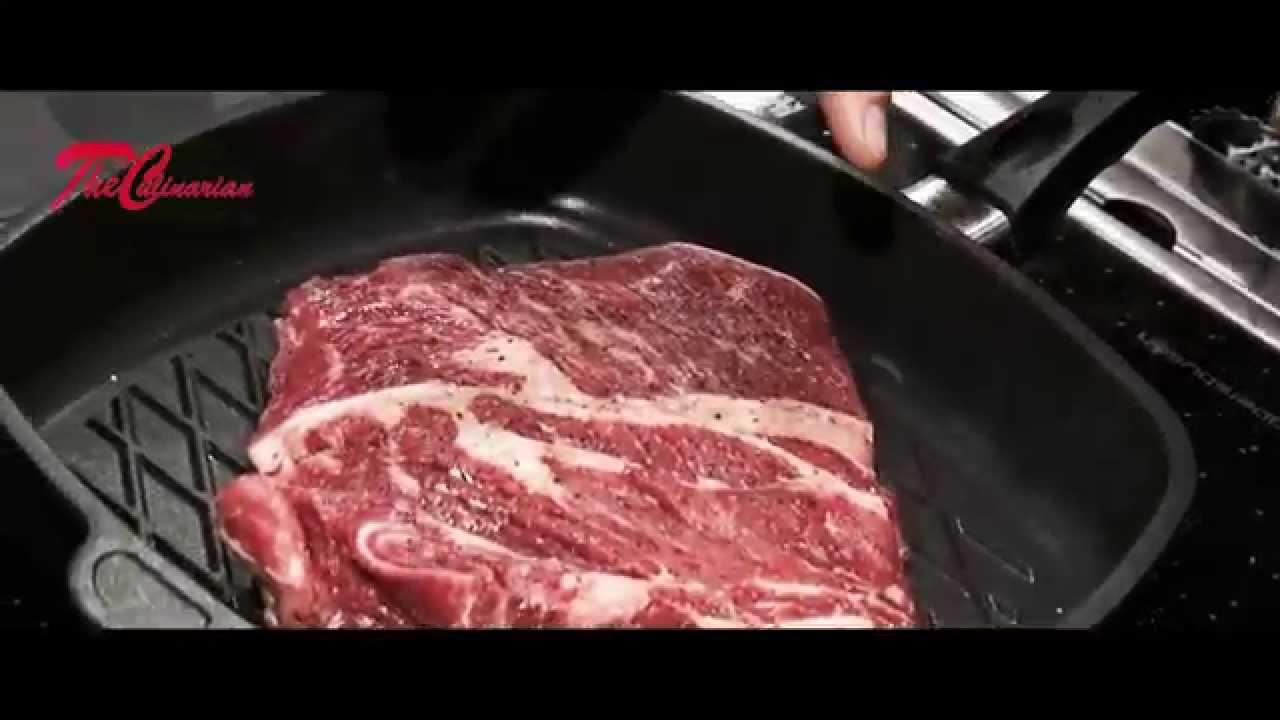 das beste steak der welt mit der besten pfanne der welt youtube. Black Bedroom Furniture Sets. Home Design Ideas