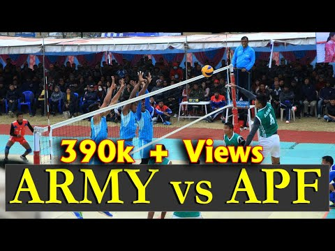 Volleyball Final 2018 Pokhara APF Club Vs Tribhuwan Army Club