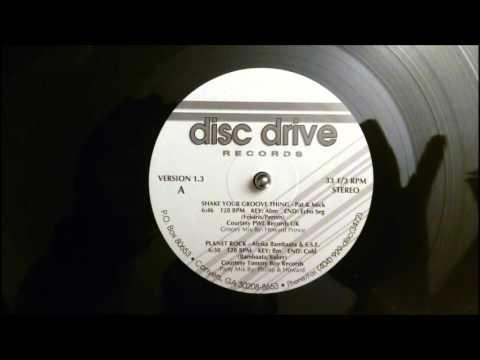 Planet Rock - Afrika Bambaata - Disc Drive
