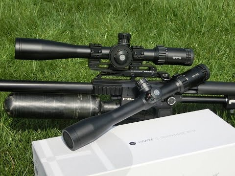 Hawke Sidewinder 30 Tactical Rifle Scope - Full Review