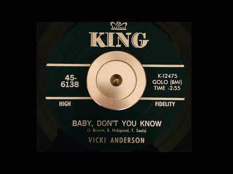 Vicki Anderson - BABY, DON'T YOU KNOW (1967)