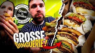 On dévalise mon fast food préféré ! Steak 'n Shake avec Pidi
