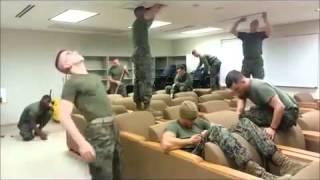 Harlem Shake US Marine Edition