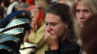 Crimea mourns school massacre victims at tearful funeral