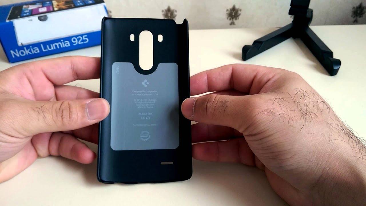 new product 5a5a3 2c430 LG G3 - Spigen Ultra Fit Case - YouTube
