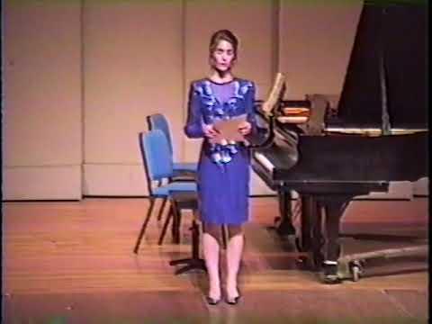 Tiffany's Senior Piano Recital Part One