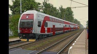 Microsoft Train Simulator - trať BP | Os 2012 Bratislava - Kúty Ep. 3