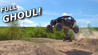 Maverick X3 gets FULL HCR suspension and SHOCK THERAPY setup!