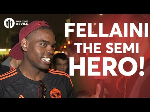 Fellaini The Semi Hero! Manchester United 1-1 Celta Vigo