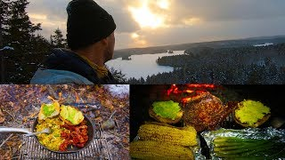 3 - My Kind of Winter Camping - Breakfast-Hiking-Steak for Supper