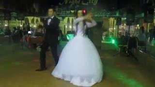 Танец жениха и невесты в стиле drum & bass и восточного танца