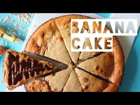 Healthy Cake Recipe | How To Make Low Calorie Banana Cake
