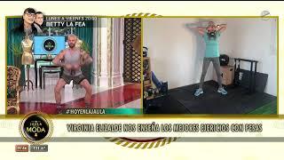 Virginia Elizalde nos enseña los mejores ejercicios con pesas