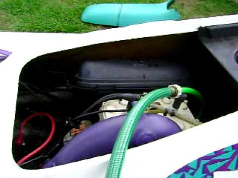 seadoo xp hose hook up