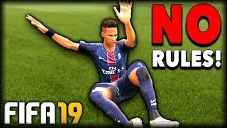 FIFA 19 NO RULES - Slide Tackle Challenge!