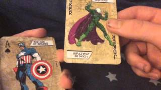 Marvel Playing Cards Deck Review