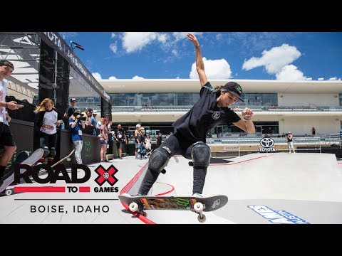 FULL REPLAY: Women's Skateboard Park Final | X Games Boise Qualifier