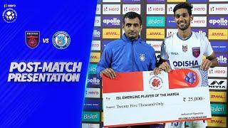 Post-Match Presentation - Odisha FC 2-1 Jamshedpur FC | Hero ISL 2019-20