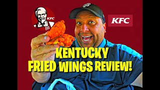 KFC's New Kentucky Fried Wings REVIEW!