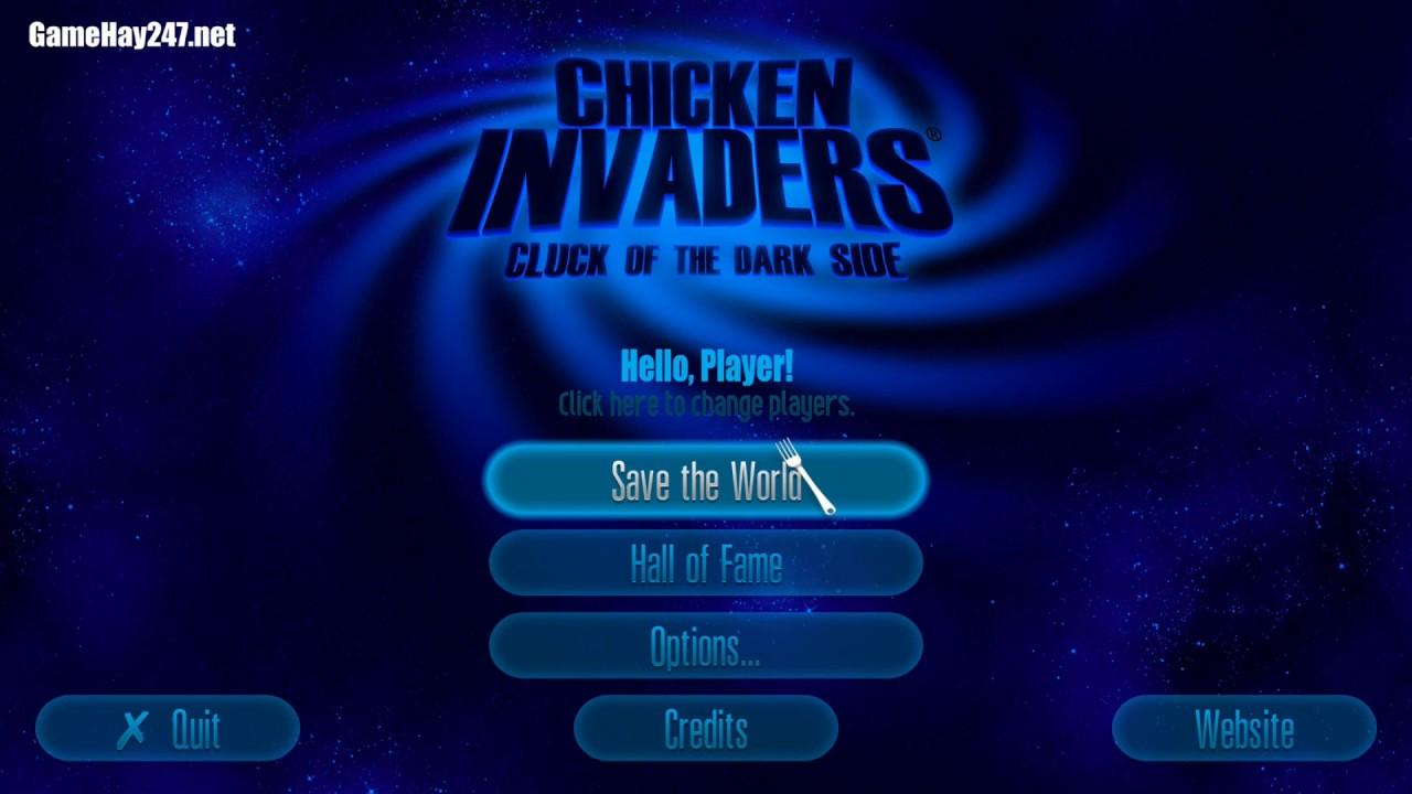 Hướng dẫn tải chơi game bắn gà 5 – Chicken Invader 5