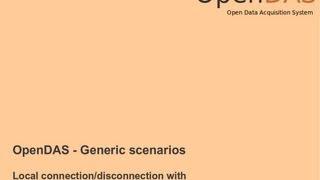 OpenDAS- Generic scenarios - Connection/disconnection