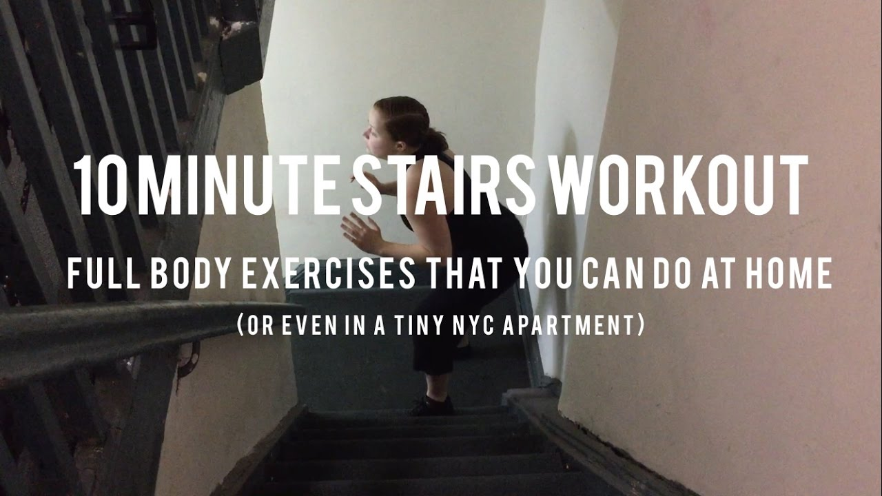 The 10-Minute Stair Workout You Can Do At Home The 10-Minute Stair Workout You Can Do At Home new photo