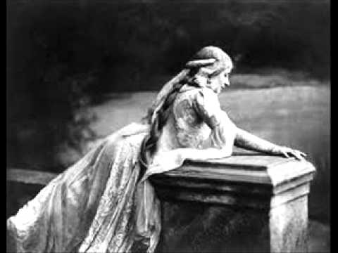 """Mary Garden Sings """"Depuis le Jour,"""" from Charpentier's Louise        1912"""