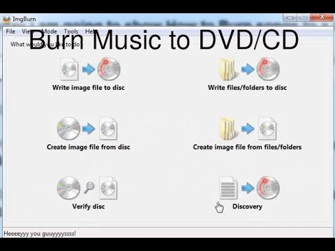 How to Burn Music Songs to CD DVD