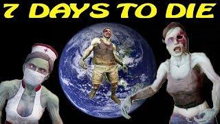 7 Days to Die [ STARVATION ] ► Червивый бур ► №82 (Стрим)