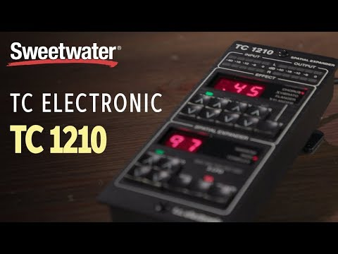 TC Electronic TC1210-DT Desktop-controlled Plug-in Demo