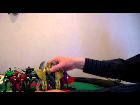 272 video review of TOTAL JUSTICE toys from DC comics 1996