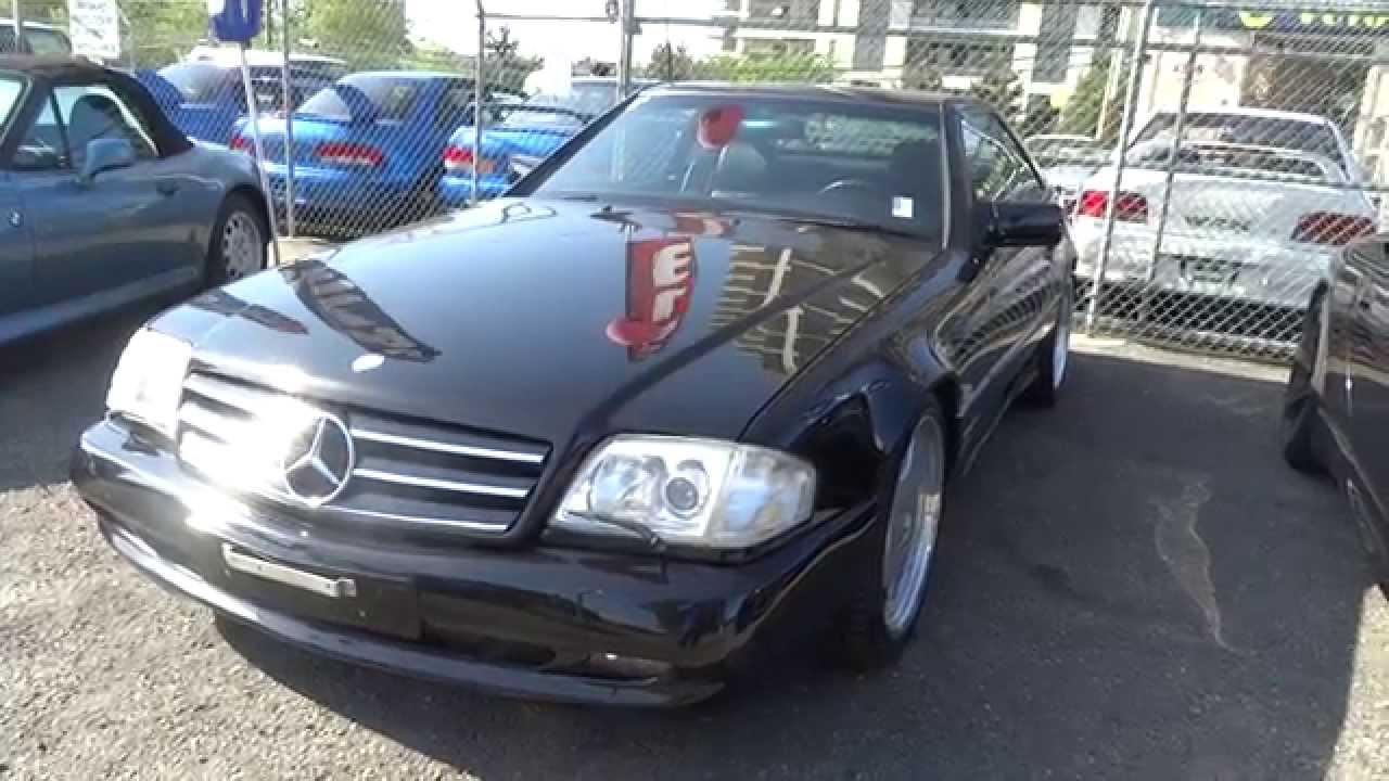 1994 mercedes benz sl500 hardtop convertible v8 322hp for for Mercedes benz canada vancouver