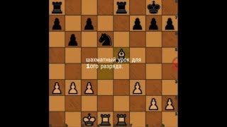 Шахматы Уроки Обучение для начинающих и новичков Шахматный урок