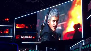 Devil May Cry 5 E3 Crowd Reaction! - E3 2018
