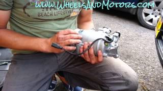 How to replace air conditioning (AC, Air Con) compressor for Audi A6 (C6 4F) 2.0tdi model(, 2014-06-26T00:44:48.000Z)