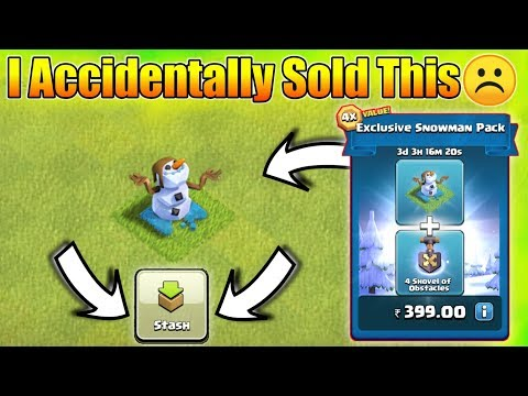 "I Accidentally Sold My Rs.399 ""Snowman Pack"" In Clash Of Clans"