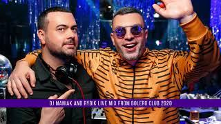 Dj maniak and mc Rybik live mix from Bolero club 2020