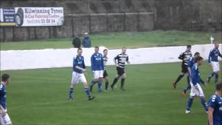 Ardrossan Winton Rovers 1 - 2 Darvel Juniors - Scottish Junior Cup 2nd Round Replay 29/10/16