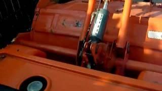 Kubota B1600 mini ciągnik ogrodniczy. www.traktorki.waw.pl