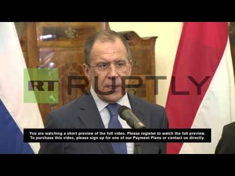 Hungary: Lavrov likens UN blanket Syria search demand to Iraq resolution