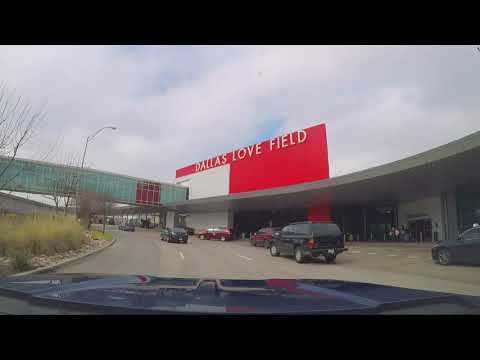 A Drive Around Dallas Love Field