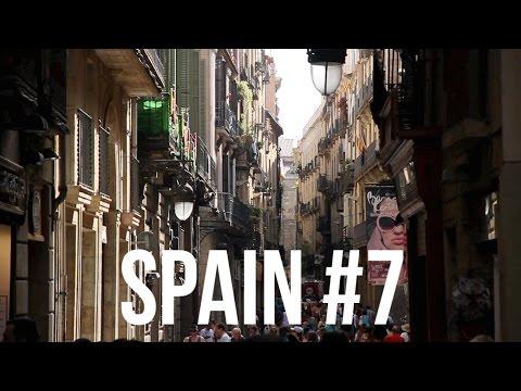スペイン・バルセロナの旅 #7 / ピカソの壁画 → 夜の旧市街・ゴシック地区を歩く / Barcelona Spain Travel #7