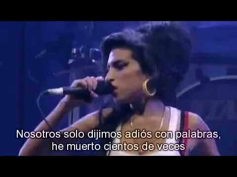 Amy Winehouse Back To Black Subtitulado Al Español Youtube