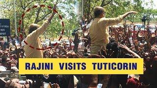 Rajinikanth Gets Mass Welcome At Tuticorin | Sterlite Issue | Sterlite
