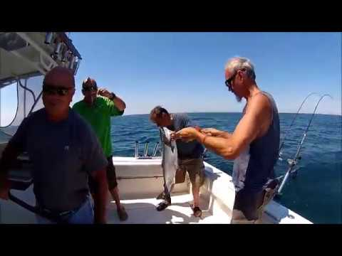 Fishing On A Lake Ontario Rochester New York